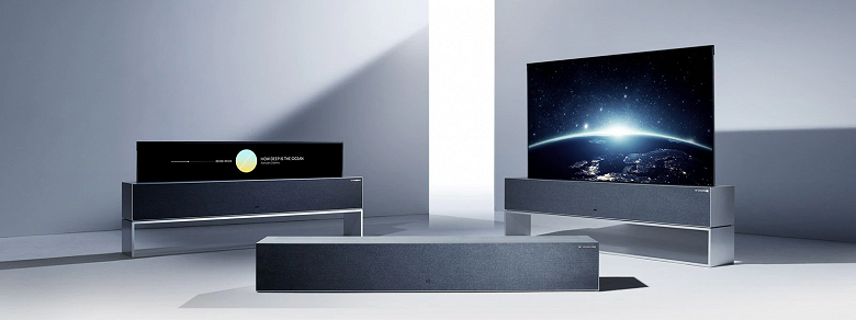 Международный старт продаж уникального сворачивающегося телевизора LG Signature OLED TV R, включая Россию