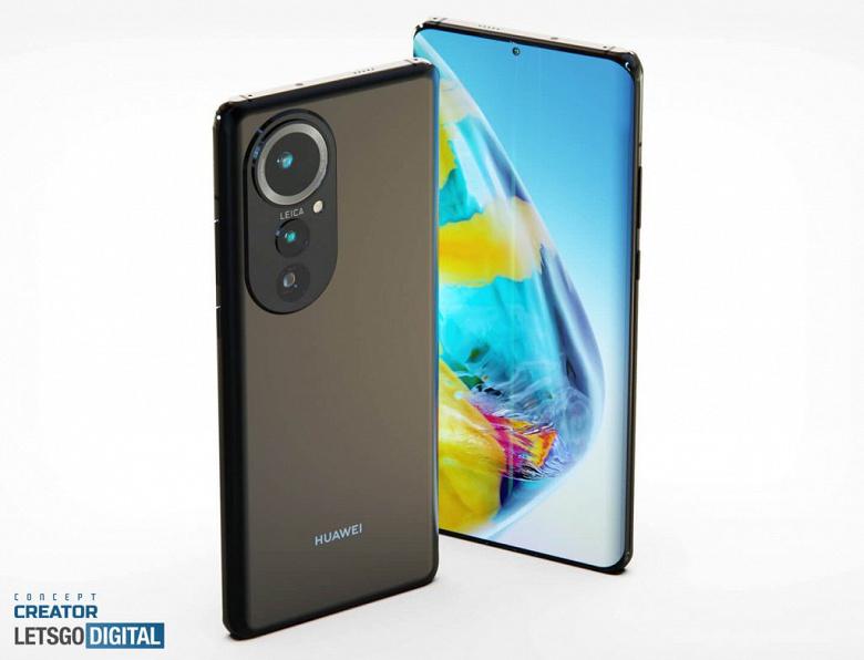 Huawei P50 Pro с огромной камерой и дюймовым датчиком изображения показали в концептуальном видеоролике и на новых рендерах