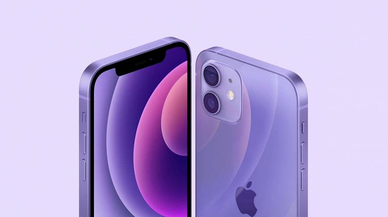 В России уже можно заказать новые iPhone 12 mini и iPhone 12 в фиолетовом цвете
