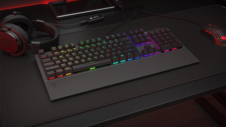 В клавиатуре SPC Gear GK650K Omnis используются механические переключатели Kailh