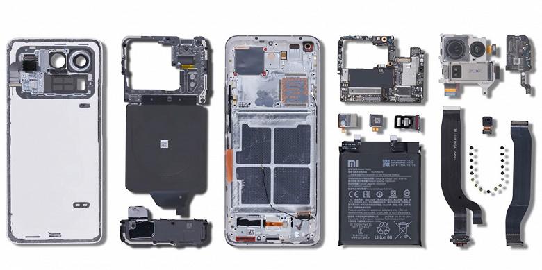 Как выглядит самая большая смартфонная камера изнутри? Xiaomi Mi 11 Ultra разобрали на видео, а также сравнили с Galaxy S21 Ultra, Huawei P40 Pro+ и iPhone 12 Pro Max