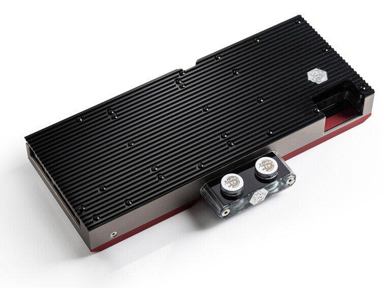 Водоблок Bitspower Premium Mobius BPPRE-VG6900XTID совместим с видеокартами AMD Radeon RX 6900 XT, RX 6800 XT и RX 6800 референсного образца