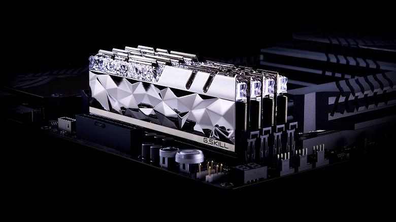 Наборы модулей памяти G.Skill Trident Z Royal Elite адресованы тем, кто уделяет большое внимание внешнему виду компонентов ПК
