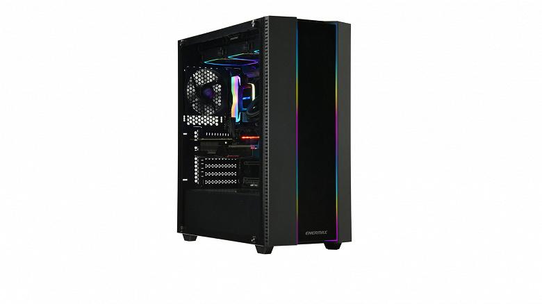 Компьютерный корпус Enermax Makashi II MKT50 рассчитан на платы размером до E-ATX