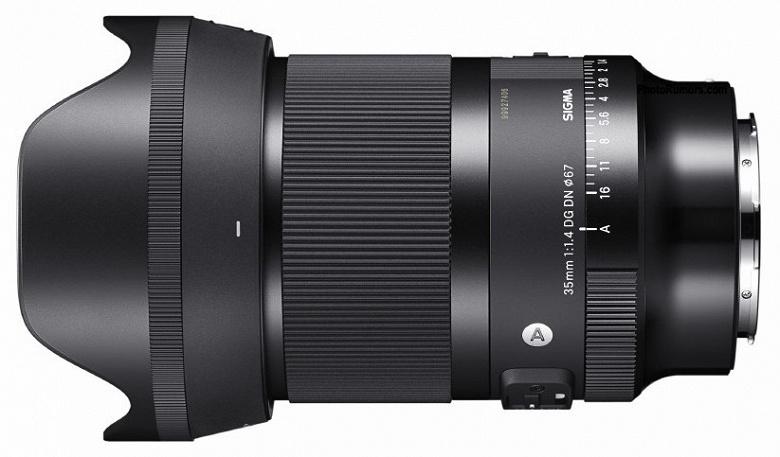 Появились первые изображения объектива Sigma 35mm f/1.4 DG DN | Art для камер с креплениями Sony E и Leica L