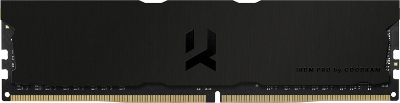 Модули памяти IRDM PRO DDR4-3600 Deep Black порадуют тех, кто не любит подсветку