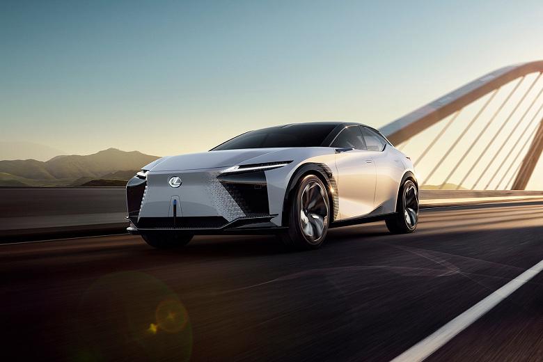От 0 до 100 км/с за 3 с и 600 км без подзарядки. Представлен электромобиль Lexus LF-Z Electrified