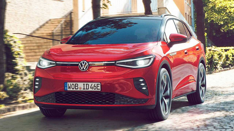 Представлен спортивный электрический кроссовер Volkswagen ID.4 GTX