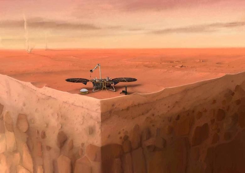 На Марсе зафиксировали одни из самых сильных марсотрясений
