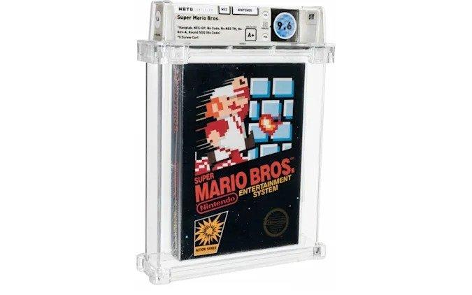 Нераспечатанная копия игры Super Mario Bros. продана за рекордную сумму 660 000 долларов