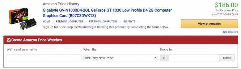 Дефицит видеокарт заставляет производителей воскрешать модели, о которых уже подзабыли. Gigabyte возвращает в продажу GeForce GT 1030, но цена шокирует