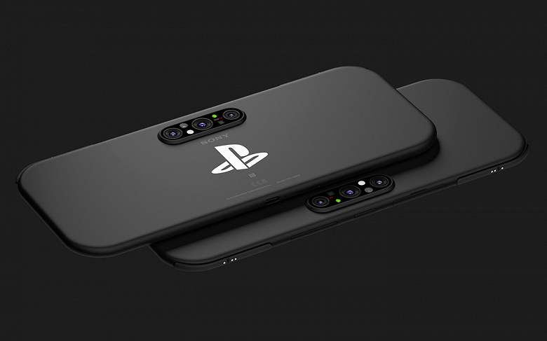 Портативная игровая консоль и смартфон Sony PlayStation в одном устройстве. Опубликованы качественные рендеры