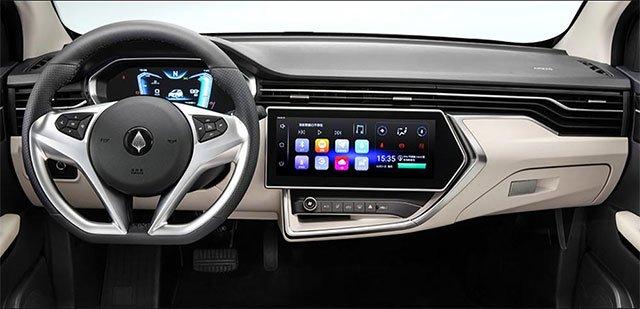 Представлен очень дешёвый электромобиль Elaris Finn с запасом хода 265 км, 12,3-дюймовым экраном, Apple CarPlay и Android Auto