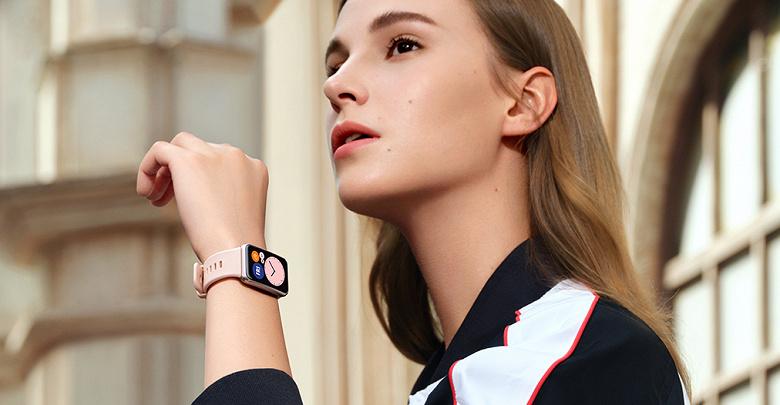 Умные часы Huawei Watch Fit получили новую функцию