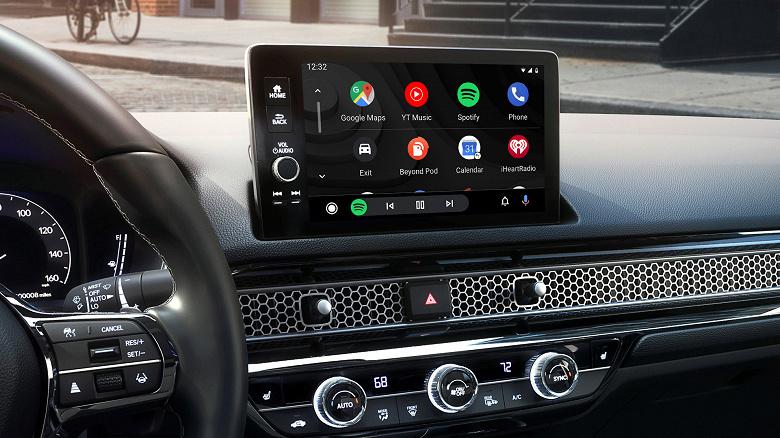 Новый Honda Civic получит возможность беспроводного подключения к Android Auto
