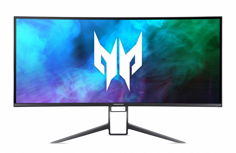 Изогнутый экран диагональю 37,5 дюйма разрешением UWQHD+, 175 Гц, сертификат DisplayHDR 600. Представлен игровой монитор Acer Predator X38 S