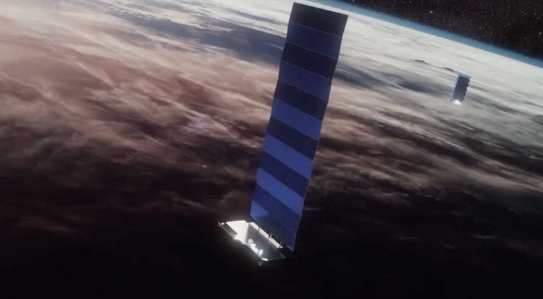 Группировка Starlink спутникового интернета Илона Маска будет расширена до 2814 спутников, из них 1505 – уже на орбите