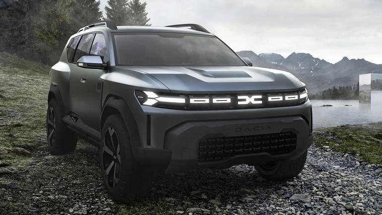 Так выглядит бюджетный кроссовер Dacia Bigster 2022. Появились первые изображения