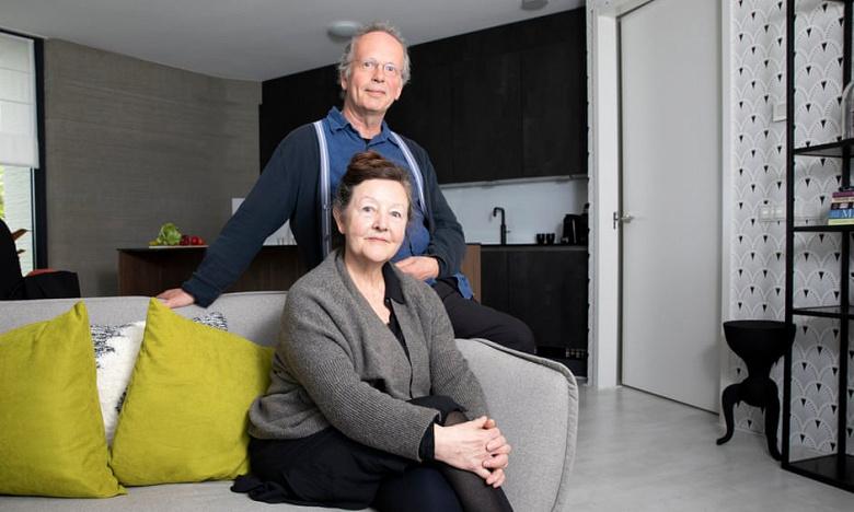 Пара переехала в первый в Европе дом, полностью напечатанный на 3D-принтере