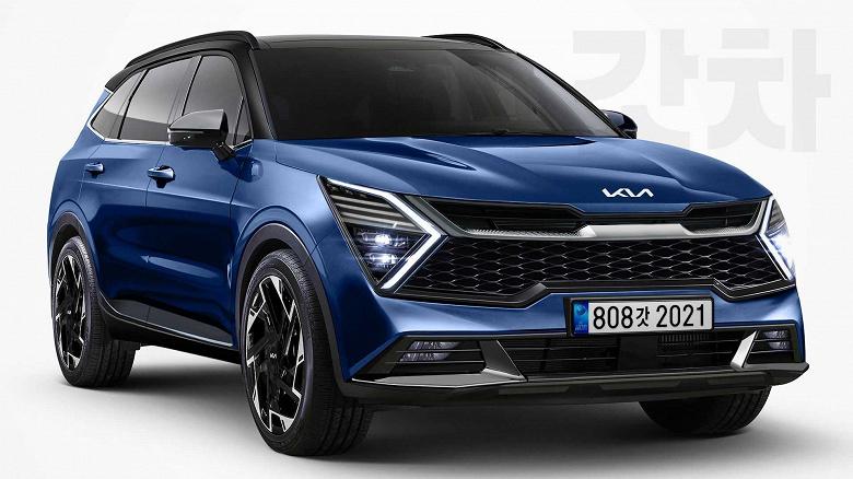 Цены и версии совершенно нового Kia Sportage 2022