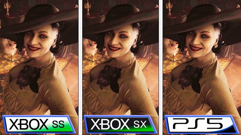 PlayStation5 против XboxSeries X в ResidentEvil:Village. Есть ли разница между консолями?