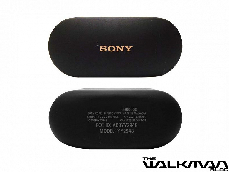 Так выглядят наушники Sony WF-1000XM4. Опубликованы живые фото