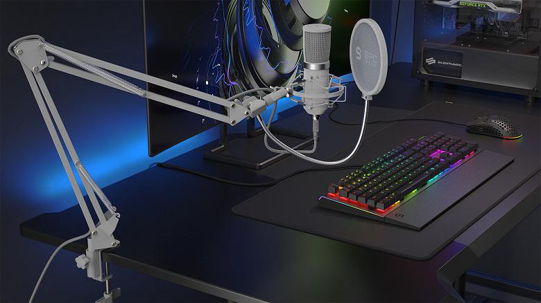 Микрофон SPC Gear SM950 Onyx White адресован стримерам