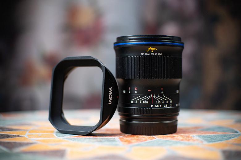 Представлен объектив Laowa Argus 33mm f/0.95 CF APO