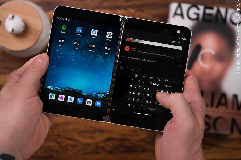 Свежая прошивка вызывает чёрный экран, зависания и проблемы с камерой на некоторых Microsoft Surface Duo