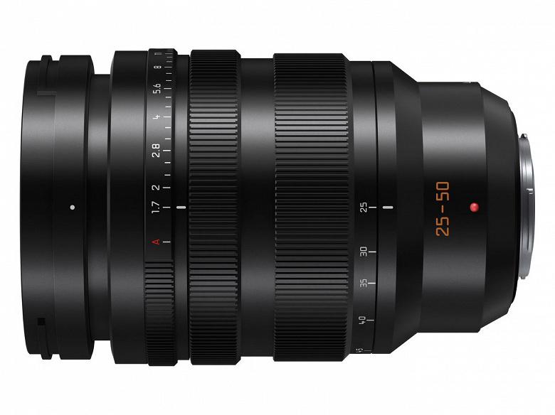 Анонсирована разработка объектива Leica DG 25-50mm F1.7