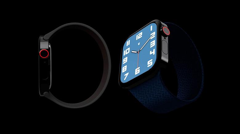 Умные часы Apple Watch Series 7 получат дизайн в стиле iPhone 12. И новый цвет
