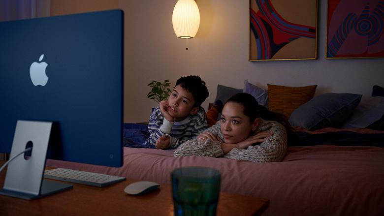 Новый iMac не касается нехватка микросхем. Apple скоро обгонит HP и станет и ведущим производителем моноблоков