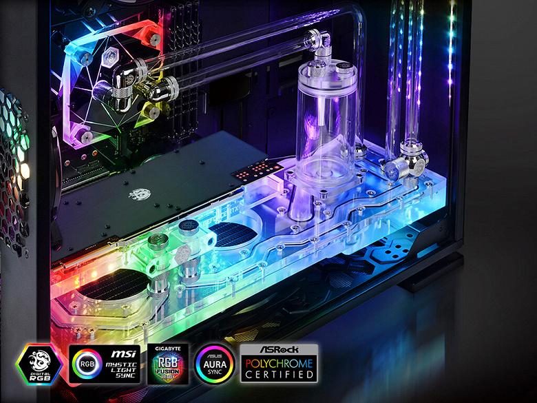 Распределительный резервуар Bitspower TouchAqua Sedna 303C предназначен для ПК в корпусе In Win 303C