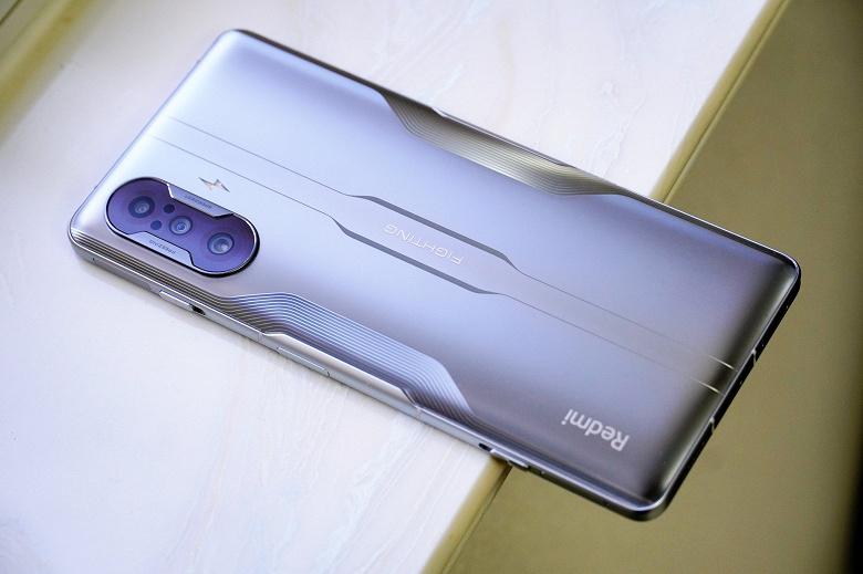 Новый смартфон Redmi K40 Game Enhanced Edition с 12 ГБ оперативной и 256 ГБ флеш-памяти уже подешевел в Китае