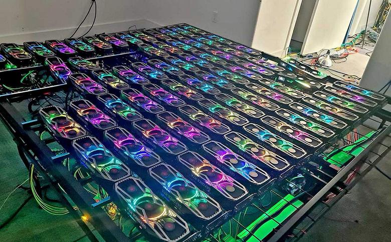 Nvidia хочет продать майнерам ускорителей на 400 млн долларов всего за квартал