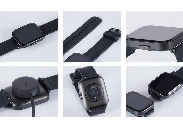 Представлены умные часы с большим экраном: 14 дней работы без подзарядки, SpO2 и 5 ATM — дешевле $40. Встречайте Mibro Watch