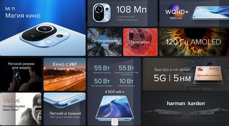 Xiaomi представила флагманский Xiaomi Mi 11 в России — самый дорогой смартфон в линейке