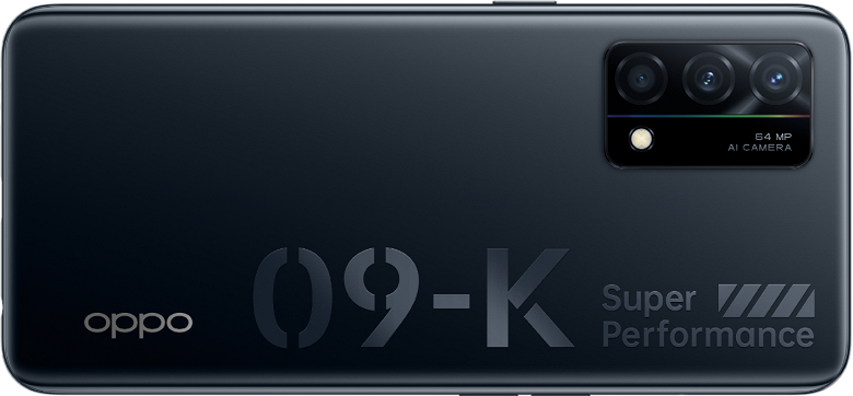 Экран OLED, Snapdragon 768G, 90 Гц, 64 Мп и 65 Вт. Представлен смартфон OPPO K9 5G