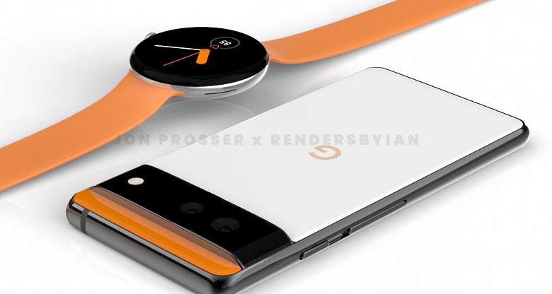 Google Pixel 6 и Google Pixel Watch впервые показали вместе