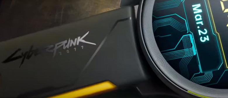 Представлены умные часы OnePlus Watch Cyberpunk 2077