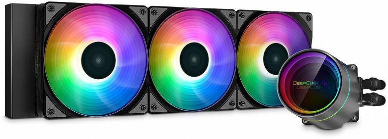 Линейку процессорных систем жидкостного охлаждения DeepCool возглавила модель Gamer Storm Castle 360EX A-RGB