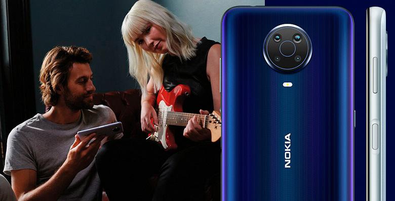 Android 11 и ёмкие батареи: стартовали продажи Nokia G20 и Nokia X20 в России