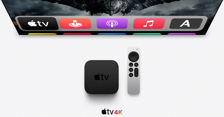 Стартовали продажи телеприставки Apple TV 4K на международном рынке, а в России её можно заказать