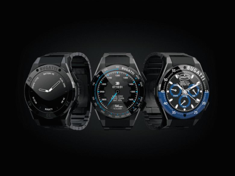 Bugattiстоимостью 1000 евро. Компания представила линейку умных часов BugattiCeramiqueEdition One