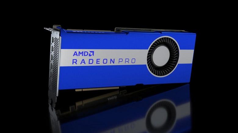 AMD готовит видеокарту Radeon Pro W6800 с 32 ГБ памяти GDDR6