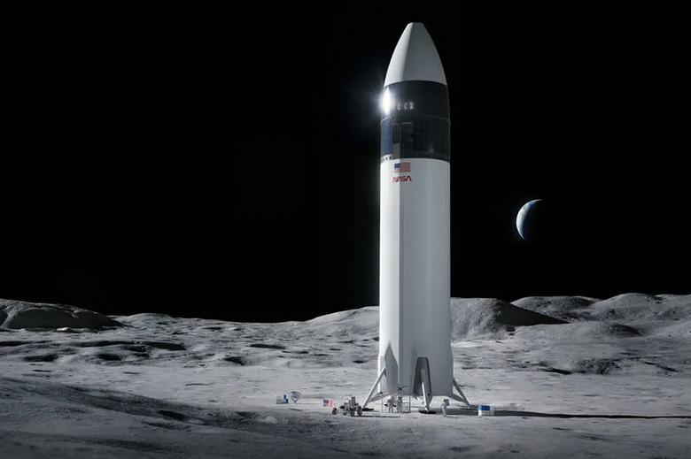NASA остановило контракт со SpaceX по отправке астронавтов на Лушу