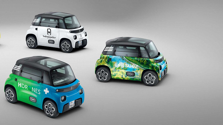 Представлен электромобиль Citroen за 6500 евро