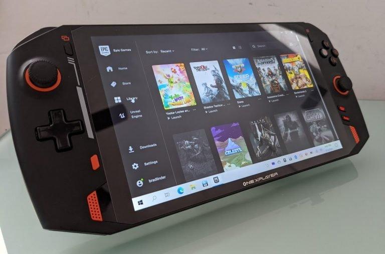 USB4, экран высокого разрешения и цена около 1000 долларов. Портативная консоль OneNetbookOneXplayer с Windows 10 готовится к выходу