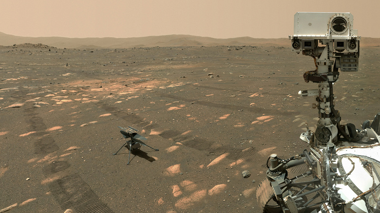 Новая миссия Ingenuity: вертолёт переходит на поддержку марсохода Perseverance
