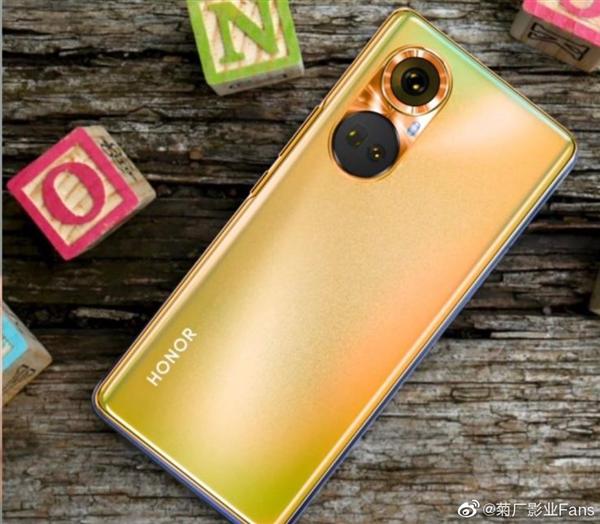 Так выглядит первый смартфон на Snapdragon 778G. Живые фото Honor 50 в синем и золотистом цветах